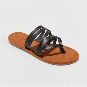 Women's Maritza Multi Strap Toe Slide Sandals